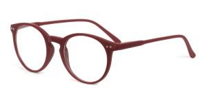 Looplabb Leesbril Lolita burgundy