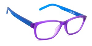 Polinelli P200 Women leesbril - Purple and Aqua