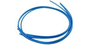 Krimpkous, blauw diameter 3.2 mm