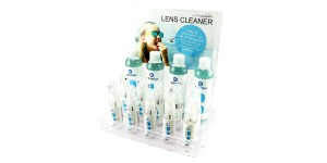 Clarity display voor 14 lenscleaners