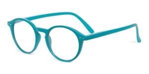 Looplabb Leesbril Faust petrol blue