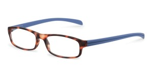 Looplabb Leesbril l'estranger turtle/blue
