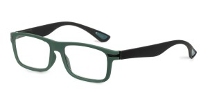 Looplabb Leesbril Empress green/grey