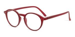 Looplabb Leesbril Faust burgundy