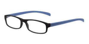 Looplabb Leesbril l'estranger black/blue